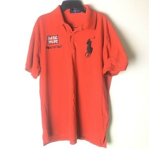 Polo Ralph Lauren Men's Custom Fit S/S XL REd